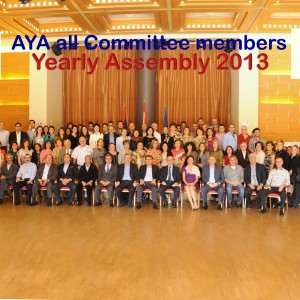 AGBU-AYA All Committee members gathering copy