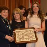 Lucy Tutunjian, Shoghig Baghdasarian, Kaline Yaverian & Nayiri Daldalian