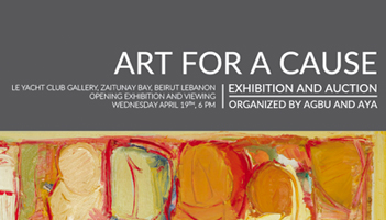 """AGBU-AYA """"ART FOR A CAUSE"""" The Opening Reception"""