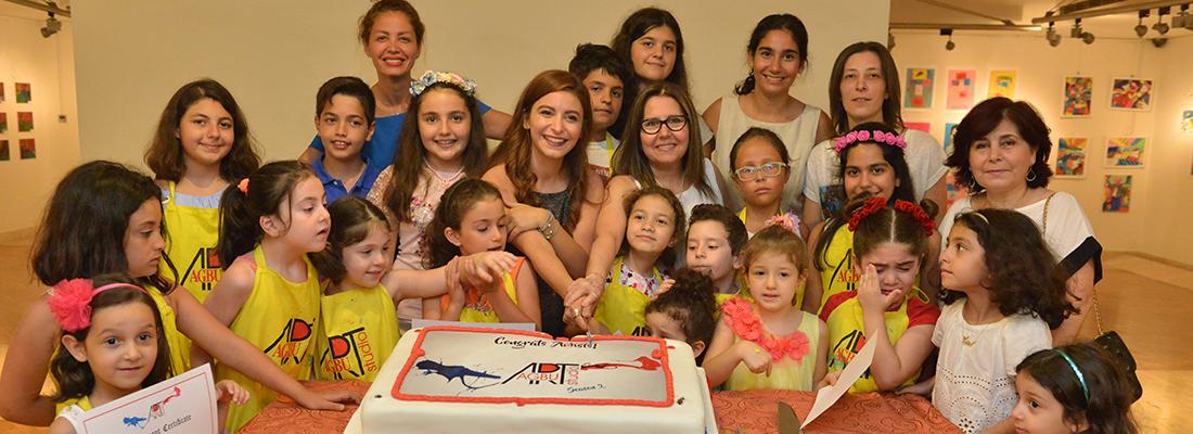 AGBU Lebanon Organizes the Second Exhibition of its Art Studio