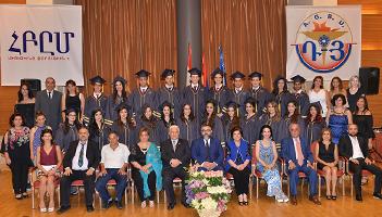 Tarouhy-Hovagimian School Graduates 22 Students
