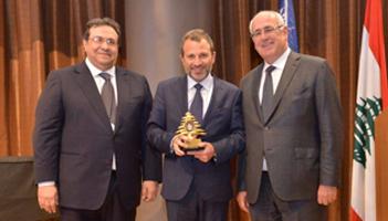 AGBU Lebanon Hosts H.E. Mr. Gebran Bassil