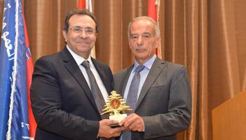 Reception in Honor of MP General Jean Talouzian