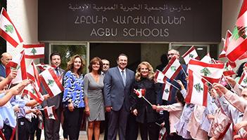 Reception in Honor of H.E. Mrs. Leila Al Solh