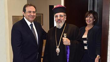 Reception in Honor of His Grace Archbishop Nareg Alemezian