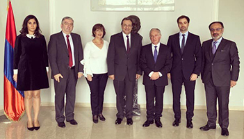 AGBU Lebanon President Gerard Tufenkjian and Armenia's Newly Appointed Ambassador Discuss Mutual Areas of Interest and Cooperation